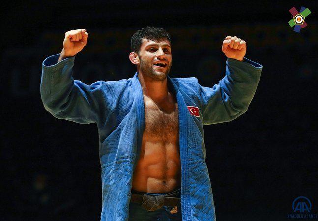 Avrupa şampiyonu Milli judocu Vedat Albayrak