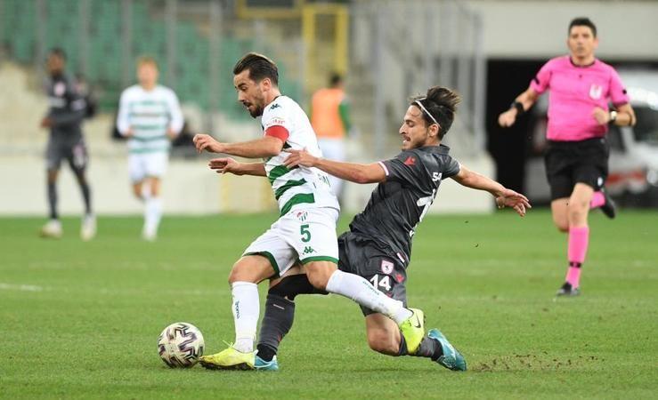 Deplasmanda Bursaspor Samsunspor'la karşılaşacak