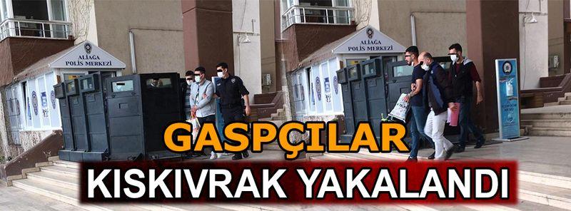 İzmir'de gaspçılar polisten kaçamadı