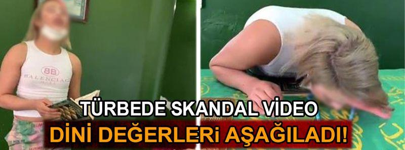 Adana'da Türbede Tiktok skandalı