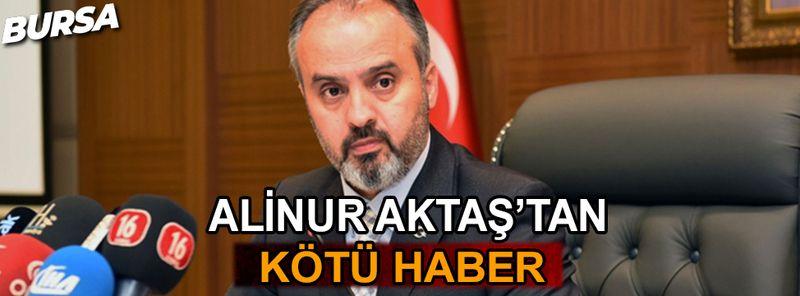 Büyükşehir Belediye Başkanı Alinur Aktaş Covid-19'a yakalandı
