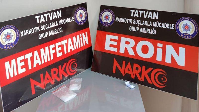 Bitlis'te eroin ele geçirildi