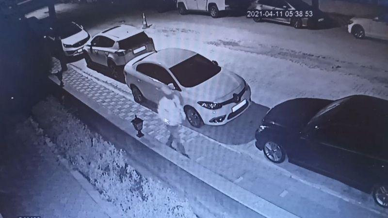 Bursa'da kameraların önünde akıl almaz hırsızlık