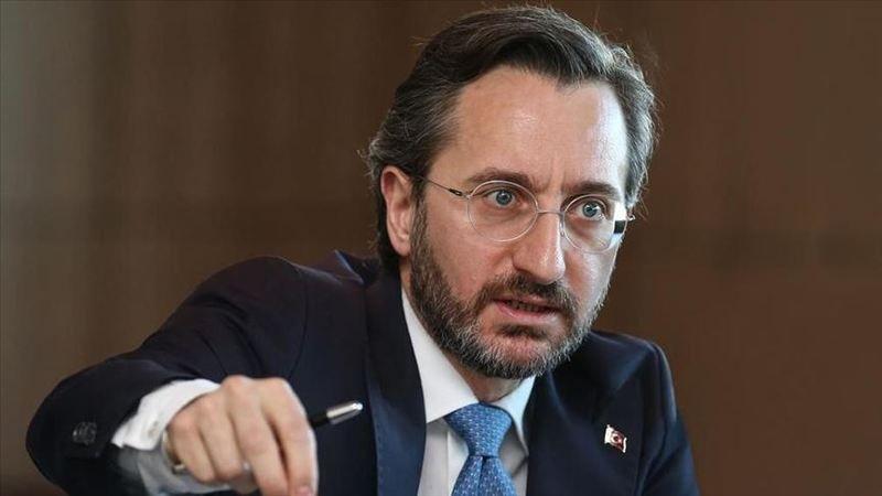 İletişim Başkanı Altun'dan Başkanvekili Altay'ın skandal sözlerine tepki