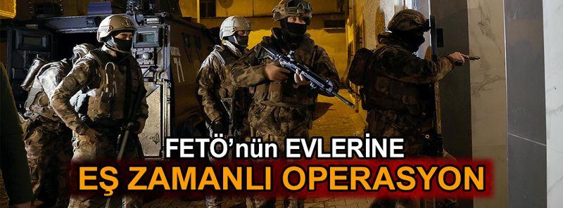 İstanbul'da FETÖ'nün evlerine operasyon: 29 gözaltı