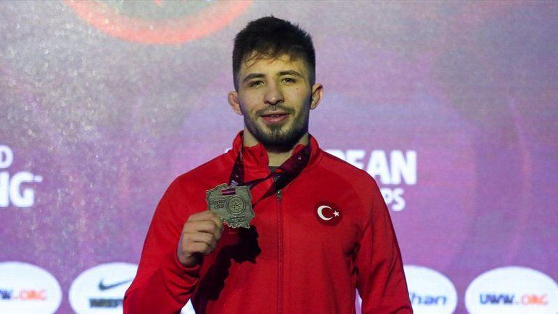 Süleyman Atlı Avrupa Güreş Şampiyonu!