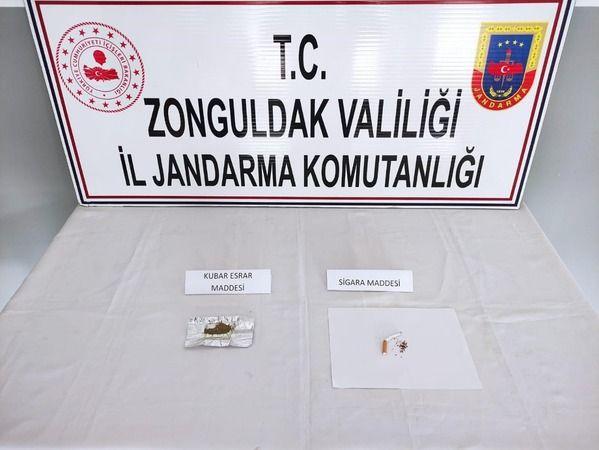 Zonguldak'ta uyuşturucu kullanan kişiler yakalandı