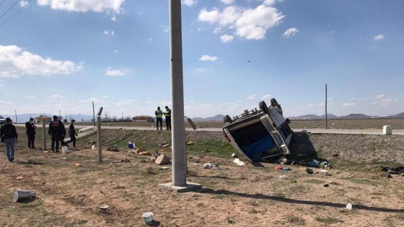 Konya'da kaza: 2 ölü 6 yaralı