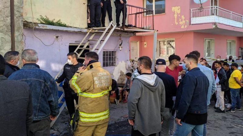 İzmir'de yangın: 4 yaşındaki çocuk hayatını kaybetti