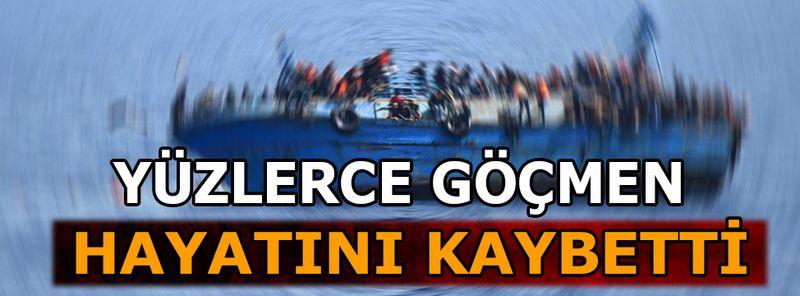 Akdeniz'de tekne kazası: 100 göçmen hayatını kaybetti