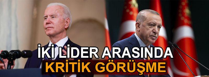 Erdoğan-Biden telefon görüşmesi gerçekleştirdi