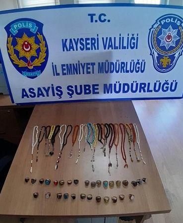 Kayseri'de hırsızlık yapan şahıs yakalandı