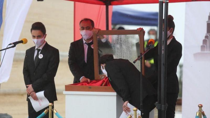 Çanakkale'de alay Sancağı devir teslim töreni gerçekleştirildi