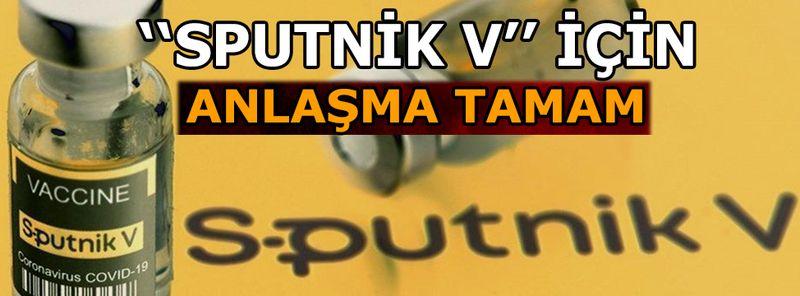 Türkiye'de Sputnik V'nin üretimi için anlaşma sağlandı