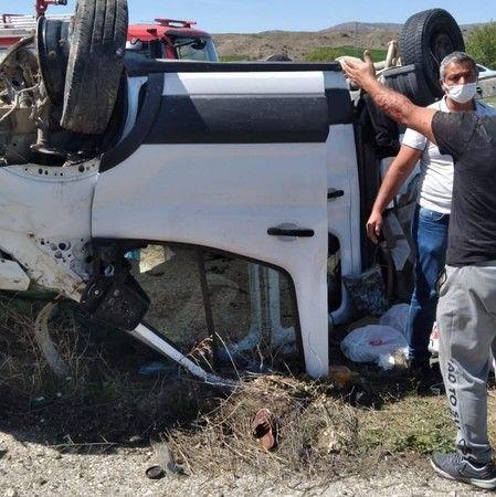 Çorum'da kaza: 5 yaralı