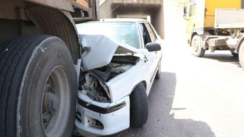 Yasak yere park etti kazaya neden oldu: 1 yaralı