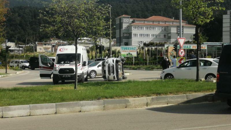 Bursa Nilüfer'de kaza
