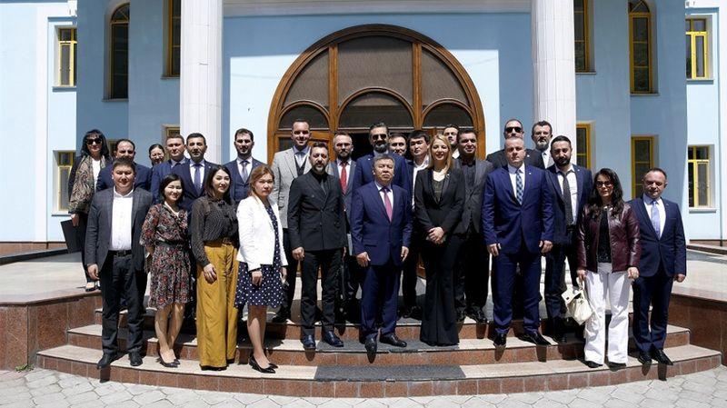 TÜGİAD ile birlikte Kırgızistan'la ticaret daha da artacak