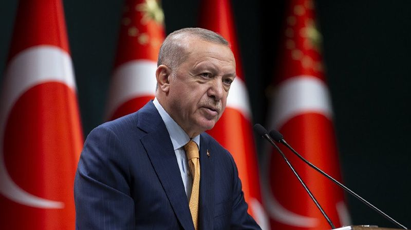 Cumhurbaşkanı Erdoğan şehit ailelerine taziye mesajlarını iletti