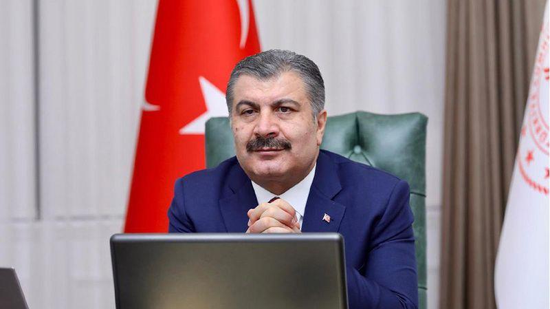 Sağlık Bakanı Fahrettin Koca'dan 1 mayıs mesajı