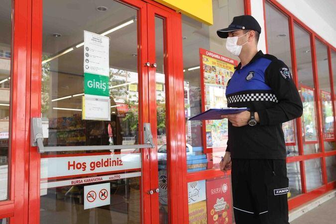 Zabıtadan süper marketlere yasaklı ürün satışı denetimi