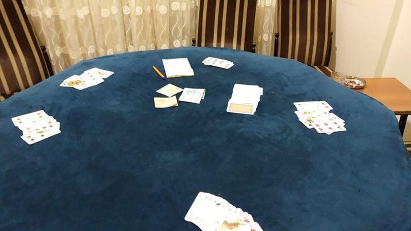 Tekirdağ'da kumar oynamak için kiralanan eve baskın