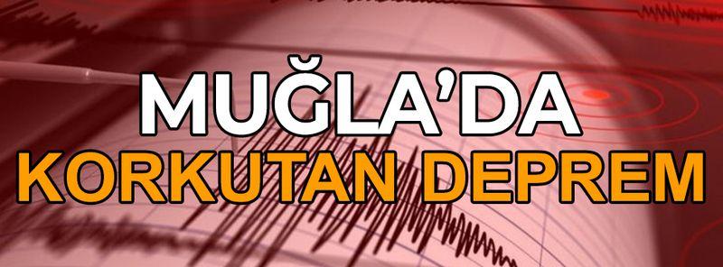 Muğla Datça'da 4.0 büyüklüğünde deprem