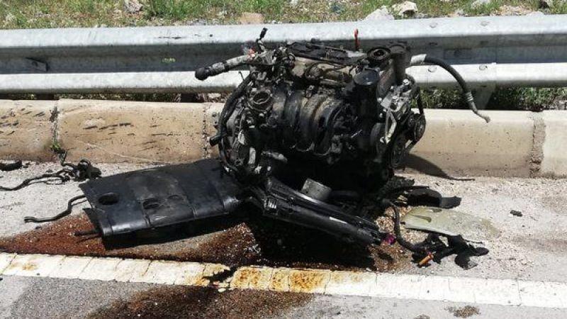 Amasya'da kaza: 1 yaralı