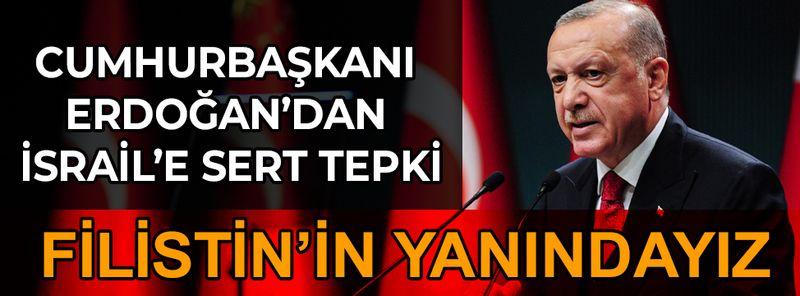 Cumhurbaşkanı Erdoğan Abbas ve Heniyle görüştü