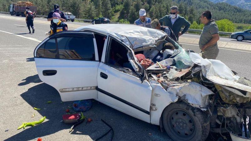 Kahramanmaraş'ta kaza: 4 kişi hayatını kaybetti