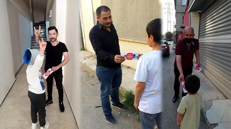 MHP Osmangazi İlçe Başkanlığı'ndan çocuklara hediye çeki