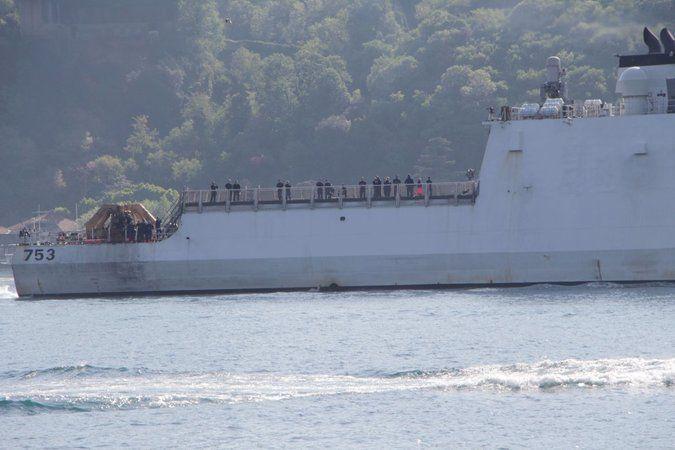 ABD sahil güvenlik gemisi Karadeniz'den ayrıldı