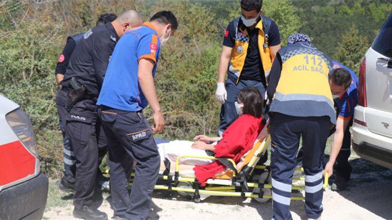 Bolu'da genç kız yaralı halde bulundu