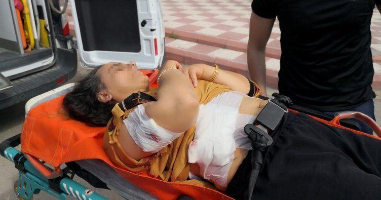 Aksaray'da aldatıldım iddiasıyla eşini bıçakladı