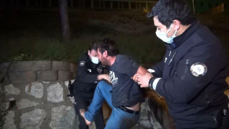 Bursa'da alkollü sürücü polislere zor anlar yaşattı