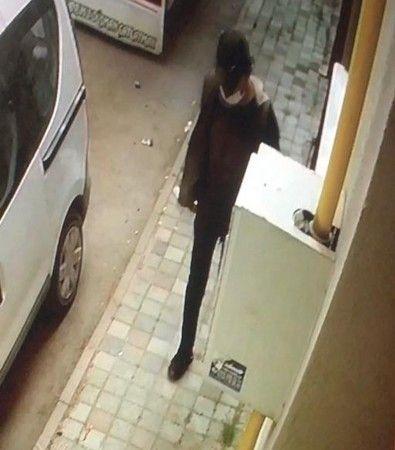 Bursa'da bisiklet hırsızı kameralara yakalandı