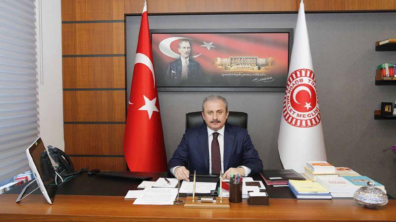 Mustafa Şentop Kazakistan Meclis Başkanı ile görüştü