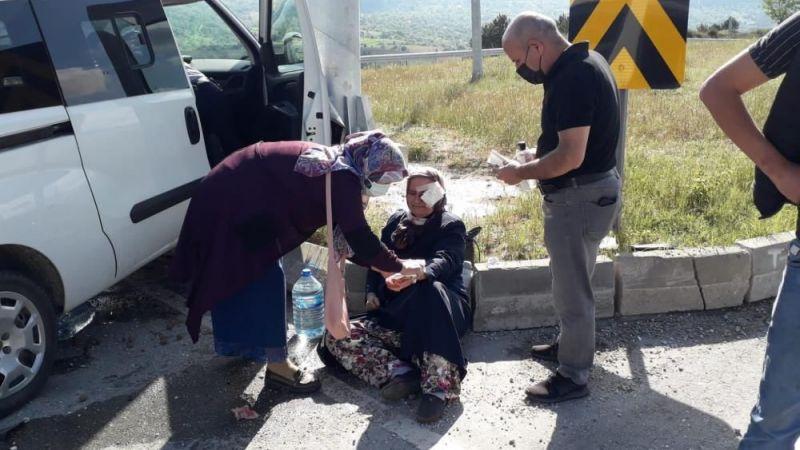 Bursa'da yaralı vatandaşa ilk müdahale Belediye Başkanı'ndan