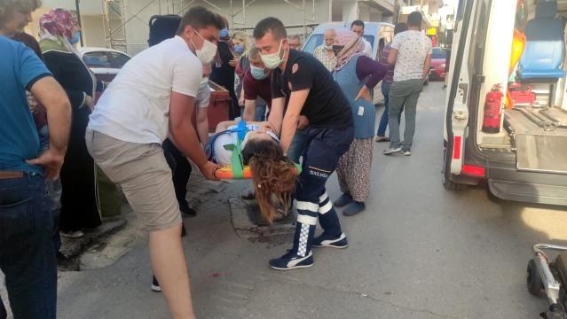 Bursa'da traktörden düşen genç kız yaralandı