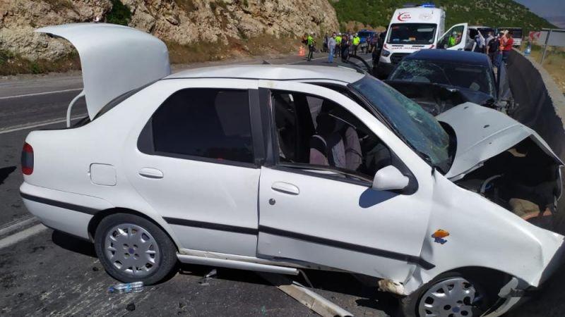 Gaziantep'te kaza: 2 ölü 8 yaralı