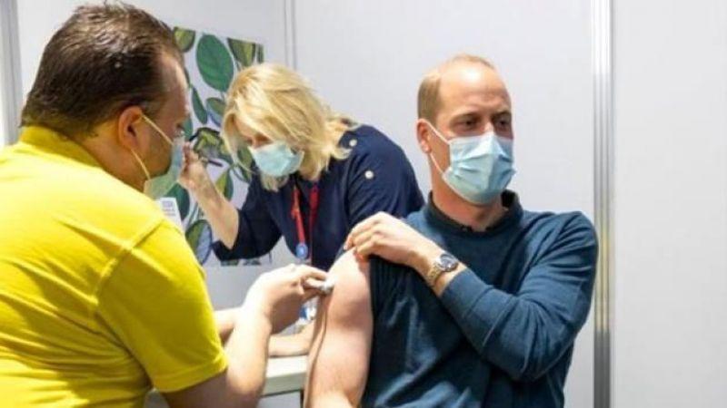 İngiltere Kraliyet ailesi üyeleri aşı oluyor