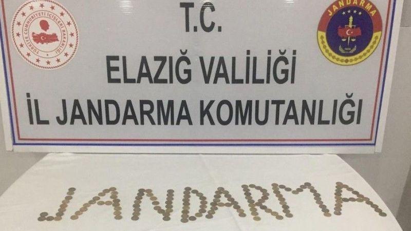 Elazığ'da sikke operasyonu