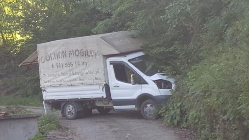 Trabzon'da kamyonet dehşeti: 1 ölü 1 yaralı