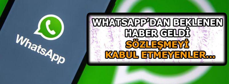 WhatsApp'ın zorunlu güncellemesi Türkiye'de yürürlüğe girmeyecek