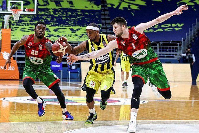 Pınar Karşıyaka seride durumu 1-1'e getirdi
