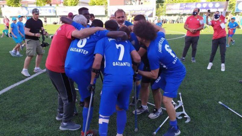 Şahinbey Ampute'den Şampiyonlar Ligi şampiyonluğu
