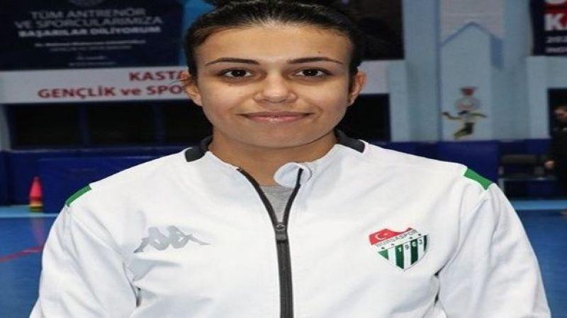 Bursasporlu sporcu Aycan Güldağı'nın hedefi Tokyo Olimpiyatları