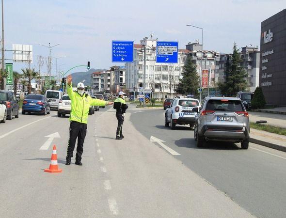 Ordu'da trafik ekipleri göz açtırmıyor