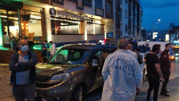 İstanbul'da silahlı saldırı: 1 ölü 2 yaralı