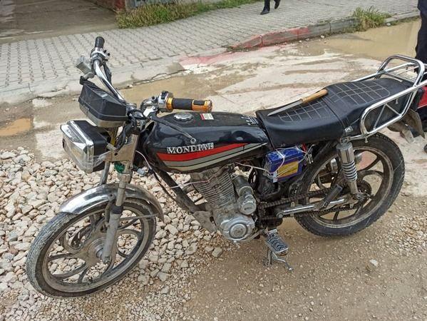 Bursa İnegöl'de ki motosiklet düzeneği şaşırttı